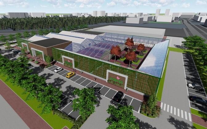 Selline hakkab nägema Hortese aianduskeskus Lasnamäel