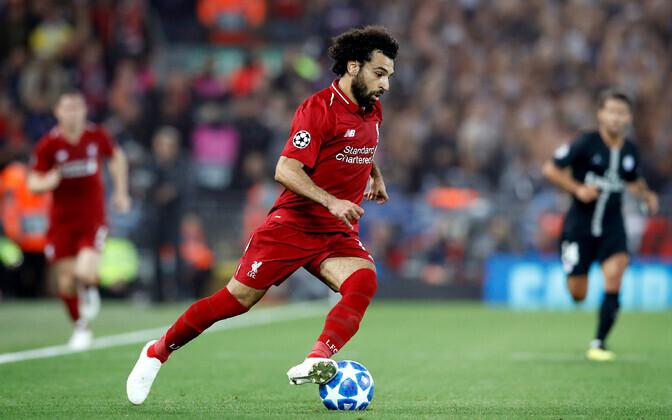 Mohamed Salah kohtumises PSG vastu