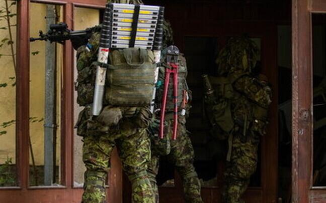 Учения Скаутского батальона.