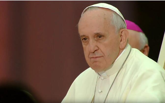 Папа Римский Франциск в Эстонии