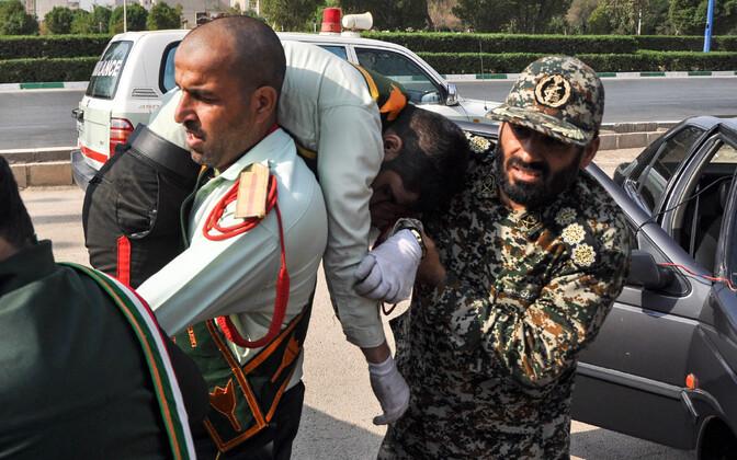 Теракт на военном параде в Иране.