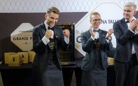 Vana Tallinn Baltic Sommelier Grand Prix Eestis
