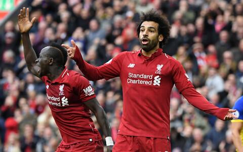 Liverpooli ründaja Mohamed Salah