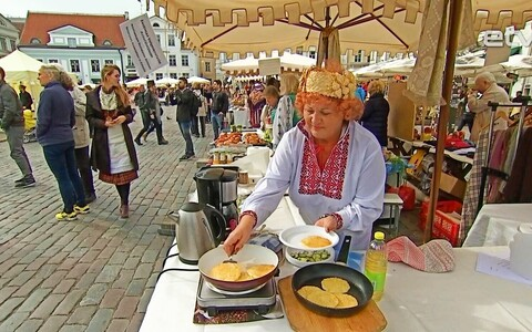Этноярмарка в Таллинне.