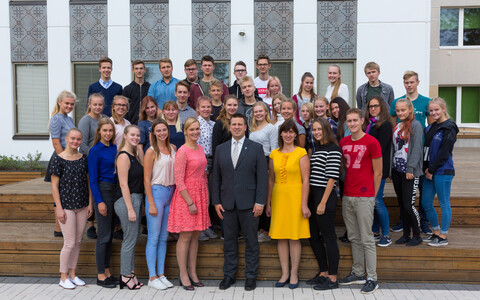Prime Minister Jüri Ratas toured the island of Hiiumaa on Friday. 21 September 2018.