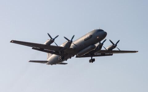 Российский самолет Ил-20.