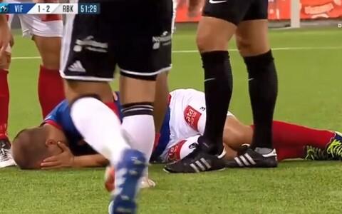 Enar Jääger sai taas vigastada.
