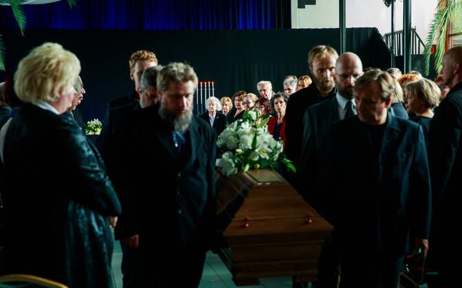 Прощание с Романом Баскиным.