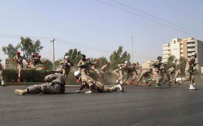 Rünnak Iraani sõjaväeparaadi ajal 22. septembril.