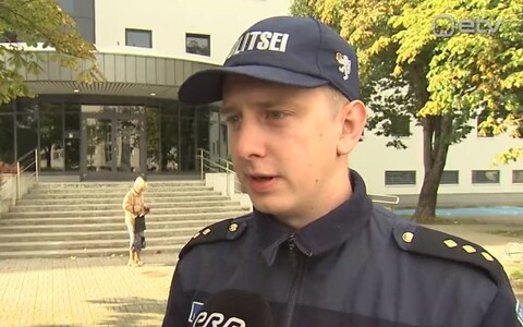 North Prefecture police official Sander Kullamaa.