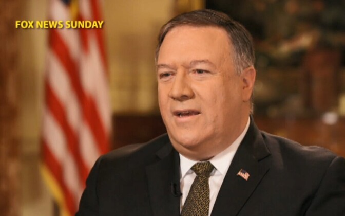 USA välisminister Mike Pompeo Fox Newsis.
