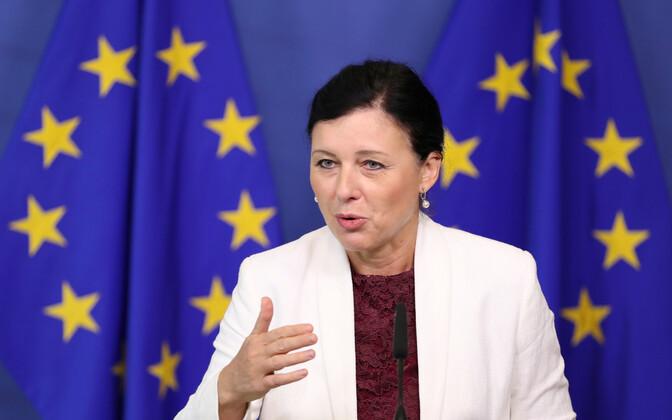 Euroopa Komisjoni volinik Vera Jourova.