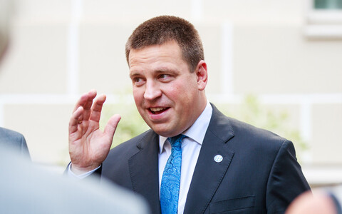 Estonian Prime Minister and Centre Party leader Jüri Ratas.