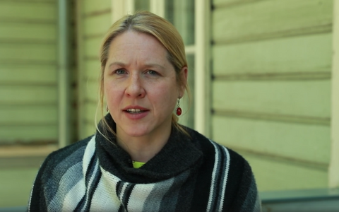Tallinna Kirjanduskeskuse direktor Maarja Vaino.