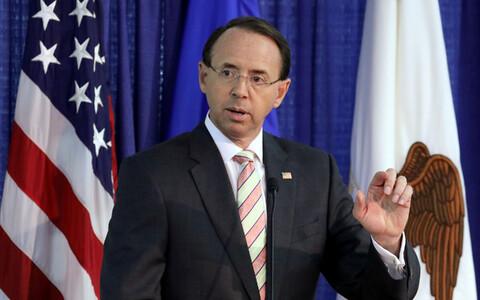 Заместитель генерального прокурора США Род Розенстайн.