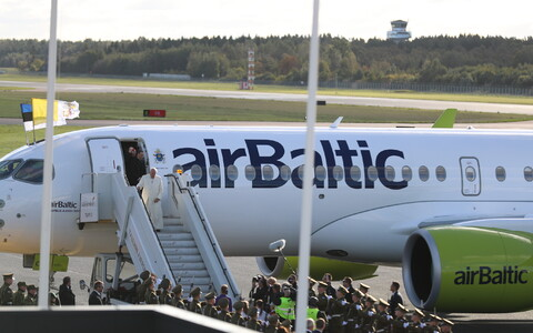 Paavsti saabumine Tallinna