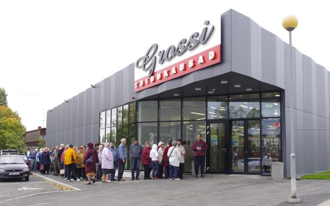 Grossi Toidukaubad grocery store.