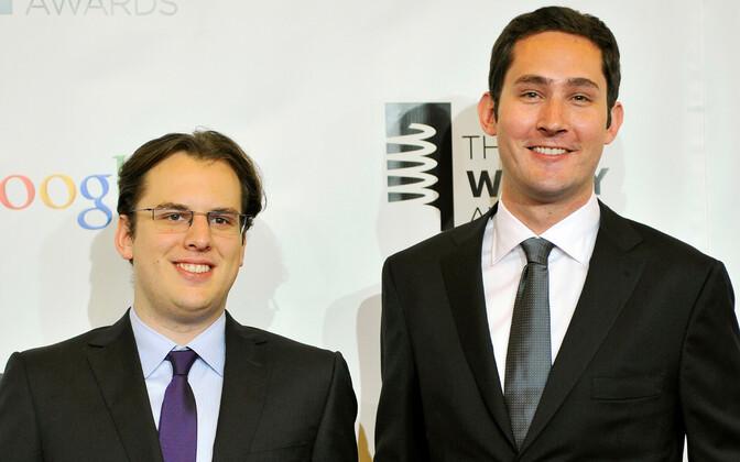 Instagrami kaasasutajad Mike Krieger (vasakul) ja Kevin Systrom.