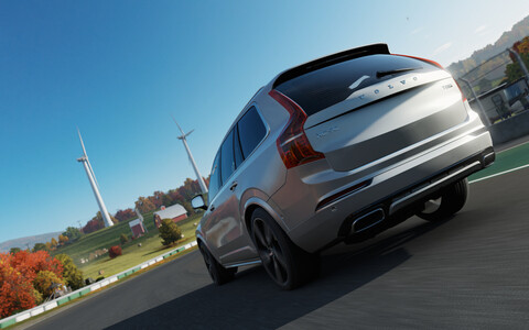 Volvo XC90. Иллюстративная фотография.