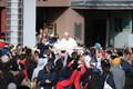 Paavsti saabumine Vabaduse väljaku missale