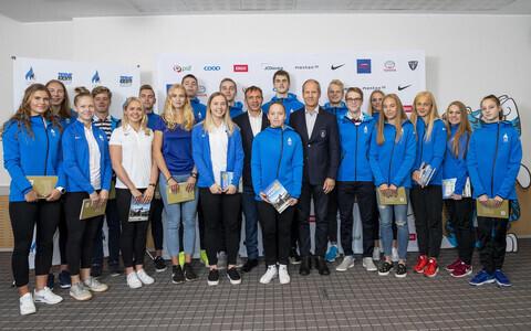 Buenos Aireses toimuvatele noorte olümpiamängudele sõitev Eesti koondis