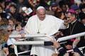 Paavst Franciscus Vabaduse väljakul