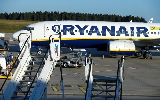 Ryanairi lennuk.