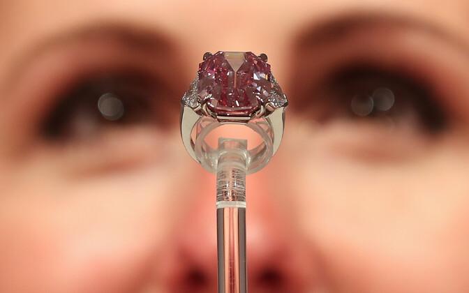 Roosa teemant