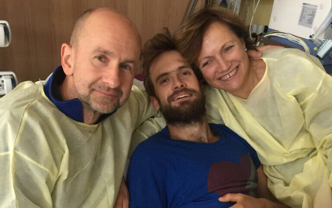 Pjotr Verzilov vanematega haiglas.