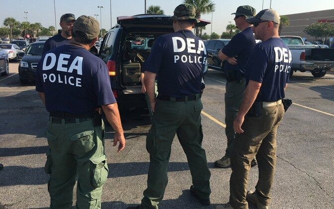 DEA officers in the US. Photo is illustrative.