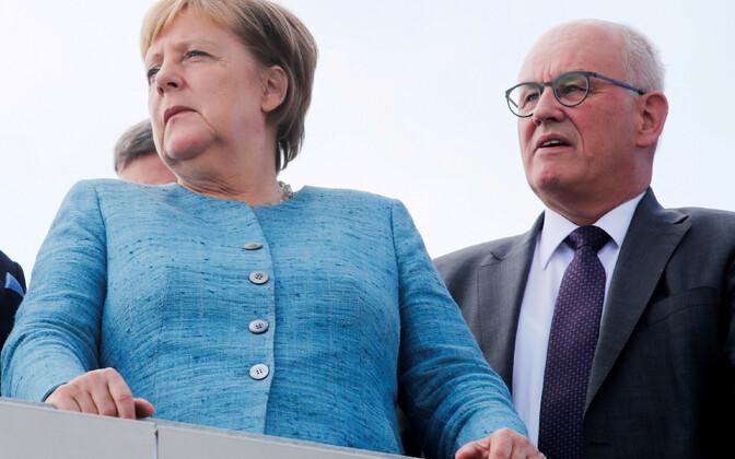 Angela Merkel ja Volker Kauder.