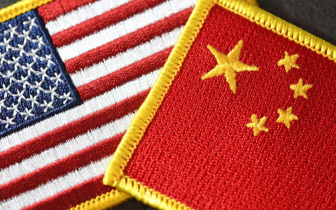USA ja Hiina.
