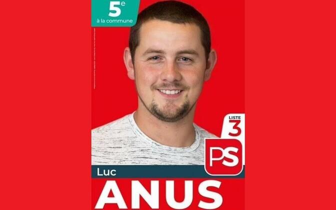 Belgia poliitik Luc Anus.