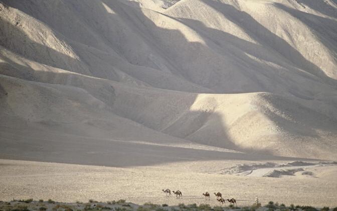 Ajaloolise siiditee lõik Afganistanis.