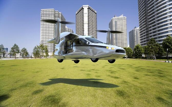 Летающий автомобиль начнут продавать в 2019 году.