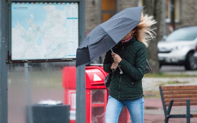 Many parts of the country experienced particularly strong winds on Wednesday. 26 September 2018.