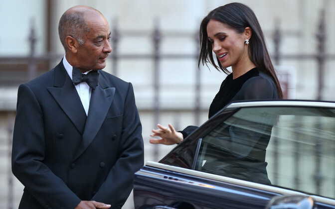 Sussexi hertsoginna Meghan ja sir Kenneth Olisa