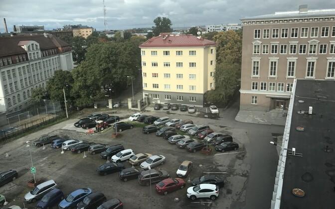 Новый телекомплекс планируют построить на участке между Радиодомом и Домом новостей, где сейчас располагается парковка.