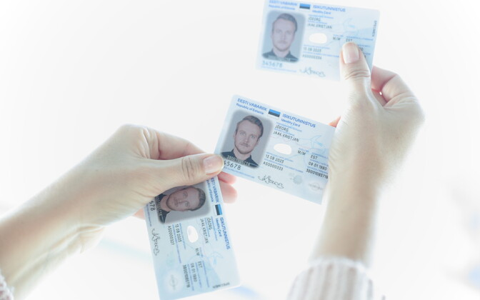 The newest version of Estonia's ID card will be rolled out beginning this week. 27 September 2018.
