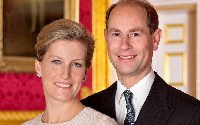 Граф и графиня Уэссекские.