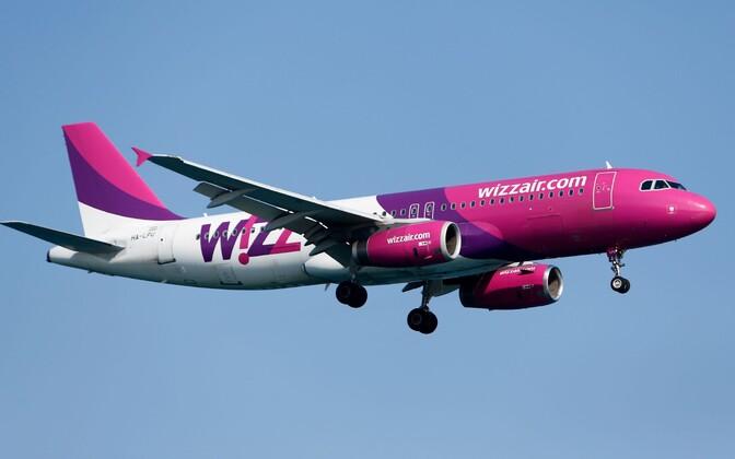 Самолет Wizz Air.