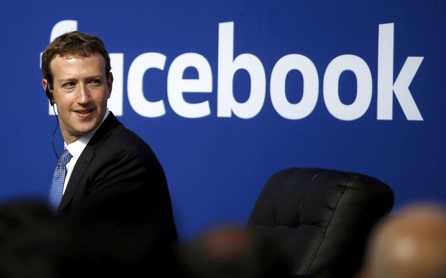 Facebooki juht Mark Zuckerberg.