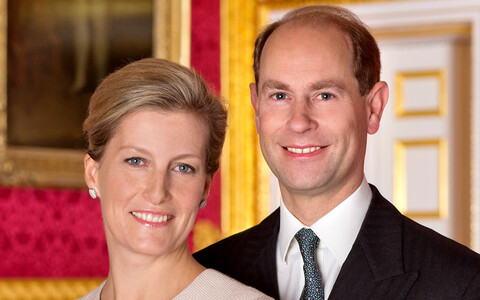 The Earl and Countess of Wessex.
