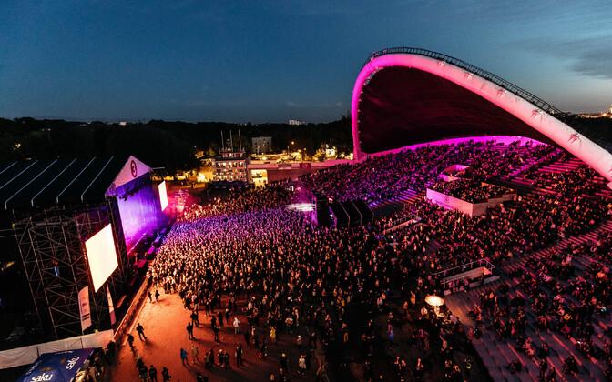 Концерт Pet Shop Boys на Õllesummer-2018.
