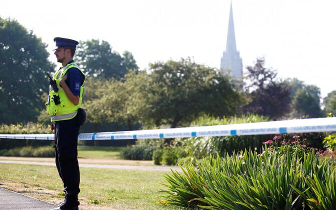 Politseinik Salisburys.
