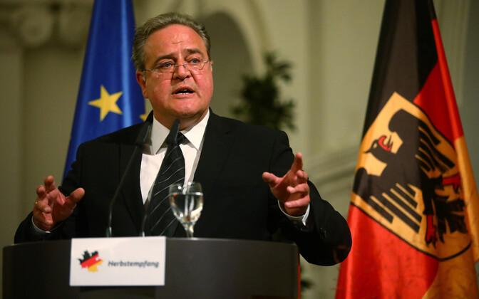 Saksamaa liidupolitsei juht Dieter Romann.