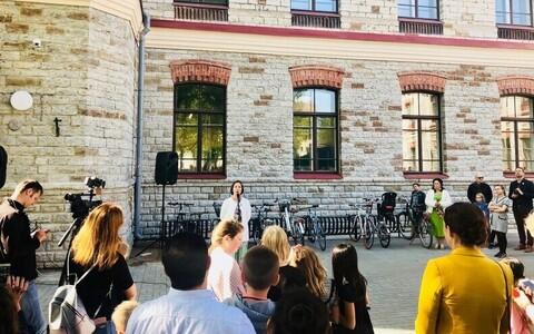 Tallinna Euroopa Kooli uue õppehoone avamine