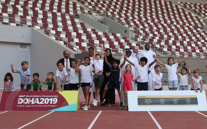 IAAF avalikustas kergejõustiku MM-i ajakava ja kvalifitseerumise süsteemi