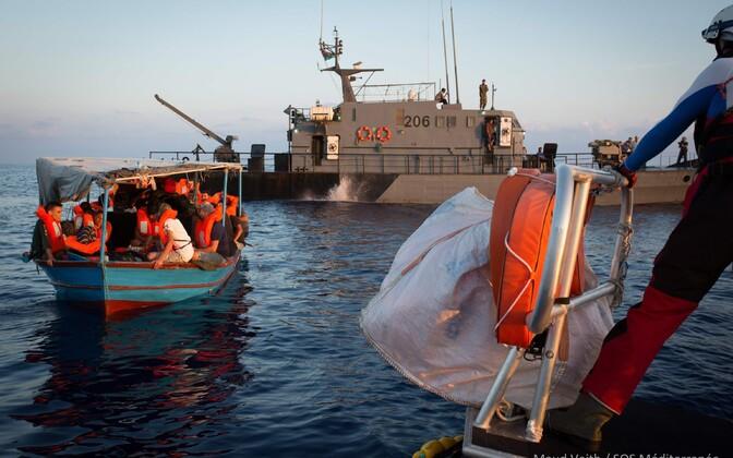 Päästeoperaratsioon Vahemerel 24. septembril.