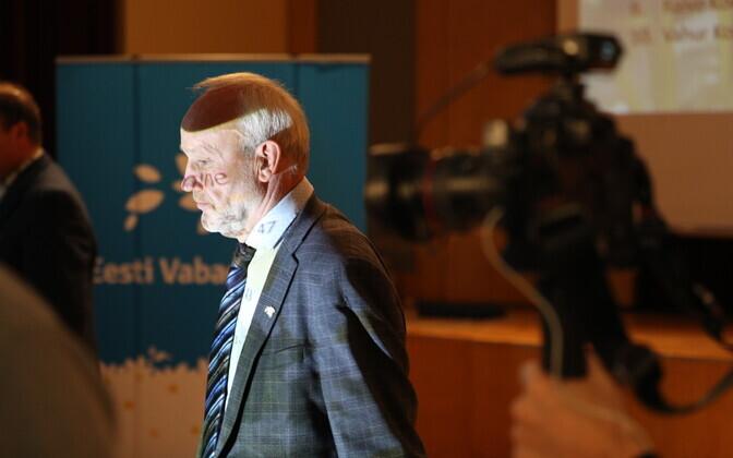 Vabaerakonna esimees Kaul Nurm.
